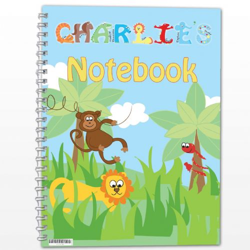 Personalised Animals - A5 Notebook
